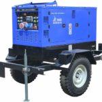 передвижной дизельный генератор